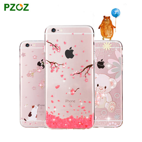 Crystal Soft Silicone Case for iPhone 6&6S Plus