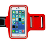 Red Colored Armband Belt Cover Phone Cases for iPhone 7/6/6s