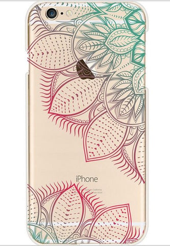 Hybrid Case Cover Totem Henna Soft TPU For iPhone models