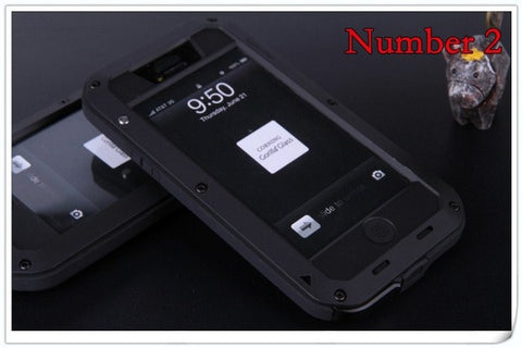 Waterproof Aluminum Phone Cases For iPhone Model