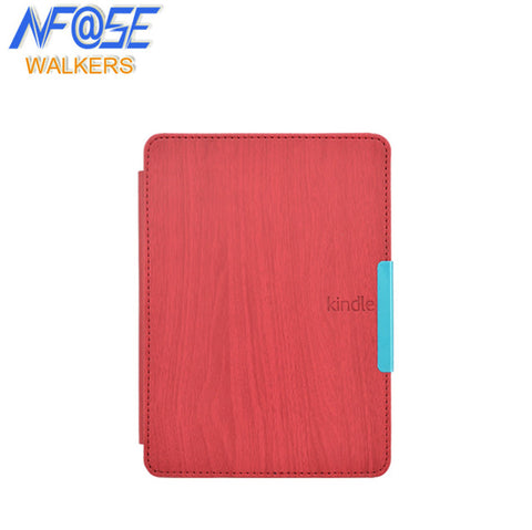 Wood Pattern leather cover case for Amazon Kindle Paperwhite 1/2/3