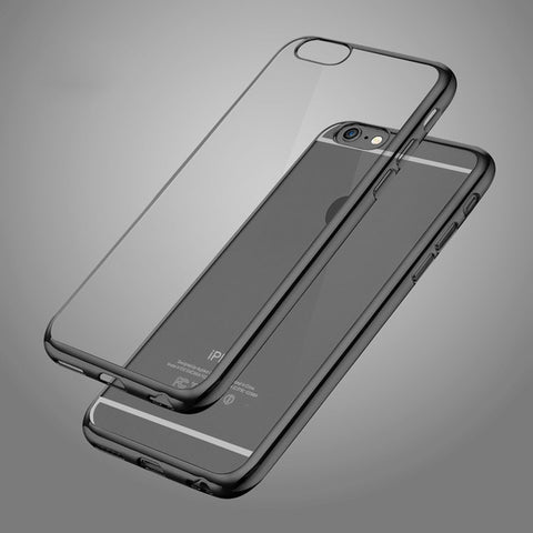 Ultra Thin Crystal Soft TPU Rubber Phone Cover Case For iPhone units
