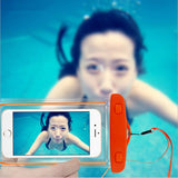 underwater transparent pouch bag for iPhone 6