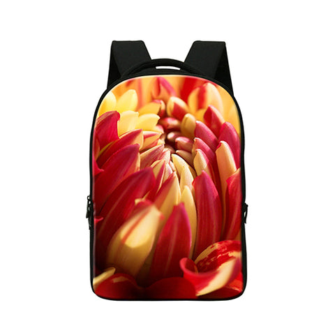 "3D Design Vibrant Colors Backpack for 14"" inches Laptop"
