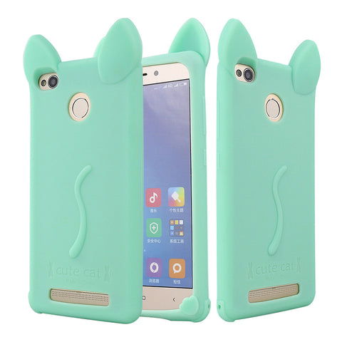 Funny Girls Soft Silicone TPU Rubber Back Cover Case Redmi 3S