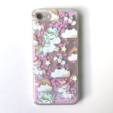 Dynamic Liquid Cartoon Unicorn Cover For iphone