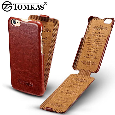 Leather Business Retro Style Cases For iPhone 6S Plus