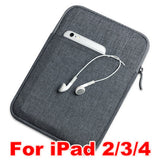 NYLON SLEEVE POUCH TABLET COVER CASE FOR iPad AIR/AIR 2/ iPad MINI 1/2/3/4/Pro 9.7