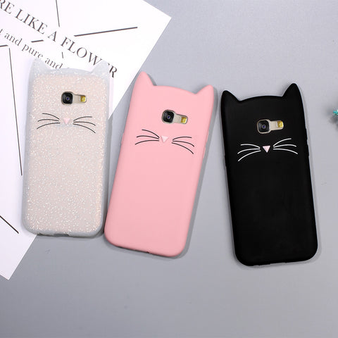 Animal phone case for Samsung Galaxy A5 A3 2017 & for Galaxy A5