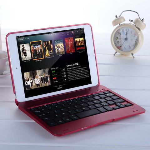 Foldable Wireless Bluetooth Keyboard Case For iPad