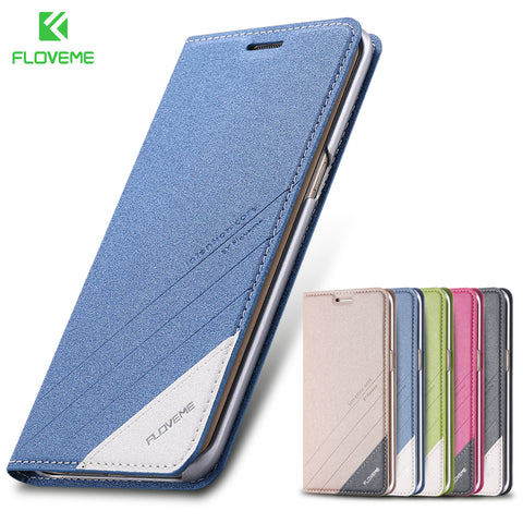 Magnetic Flip Phone Case for Samsung Galaxy S6/S7 Edge