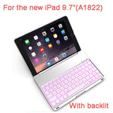 Luxury Bluetooth Keyboard Case For new iPad 9.7