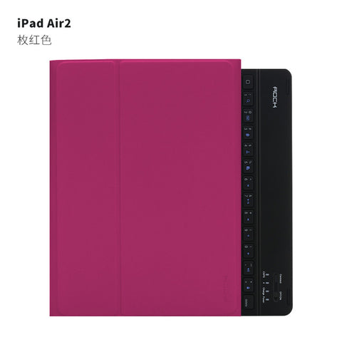 "iPad air 2 9.7 "" Bluetooth Keyboard leather case Cover Protective for ipad air2"