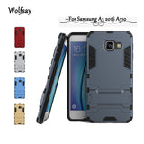 Case Cover Slim Robot Armor Wolfsay Case For Samsung A3 2016 A310