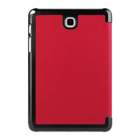 Red Colored Business Leather Tablet Cover Case for Samsung Galaxy Tab Units