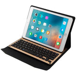 Wireless Bluetooth Keyboard Cover Case for iPad 9.7
