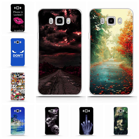 Cover Bag Back Silicon Skin Cover for Samsung j7 2016 Phone Cases
