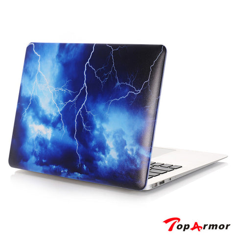 "Colorful Hard Shell Laptop Cover Case for MacBook Air Pro 11/ 12/ 13/ 15"" inch"