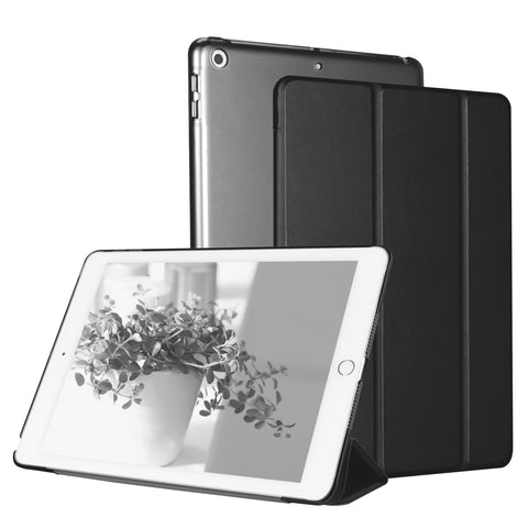 Fashion PU Smart Magnet Cover Case for New iPad