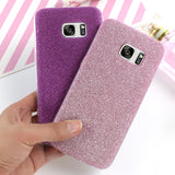 SOFT SILICONE BLING GLITTER BACK COVER PHONE CASE FOR SAMSUNG UNITS