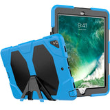 "Sky Colored Armor Shockproof Hybrid Cover Case with Stand for iPad Pro 10.5"" inch"