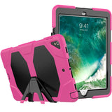 "Pink Colored Armor Shockproof Hybrid Cover Case with Stand for iPad Pro 10.5"" inch"