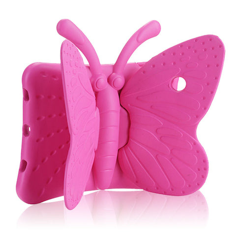 BUTTERFLY DESIGN SILICONE COVER CASE WITH STAND FOR iPad AIR, iPad AIR 2, iPad PRO 9.7