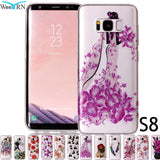 3D LUXURY SILICONE TPU SOFT GEL PROTECTION CASE COVER FOR SAMSUNG S8