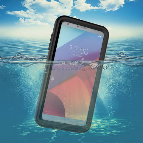 Black Colored WATERPROOF UNDERWATER CASE FOR LG G6