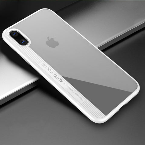 iPhone X Case Ultra Thin Silicone Transparent