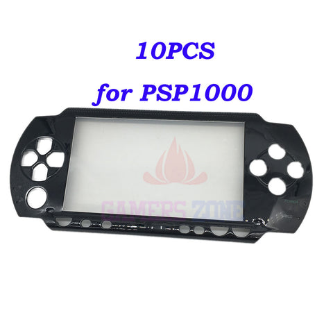 Black Front Shell Case for Sony PSP 1000