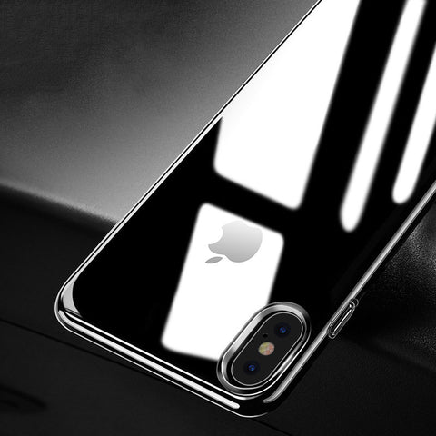 iPhone X Case Transparent Soft Bumper