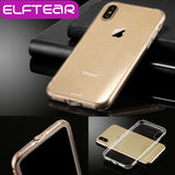 iPhone X Case Ultra Thin Transparent Clear Hard