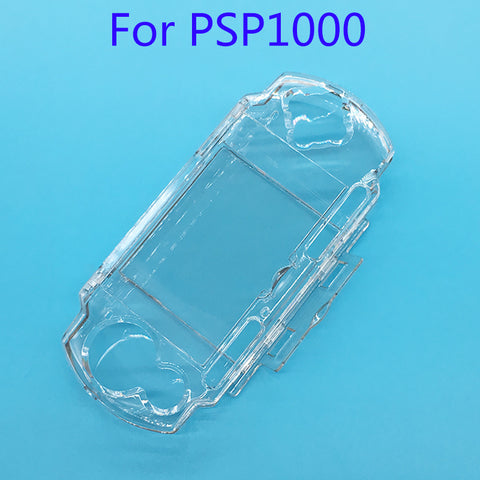 Clear Transparent Protective Hard Cover Case for Sony PSP 1000