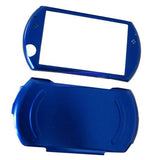 Blue Colored Aluminum Protective Case Cover for Sony PSP Go