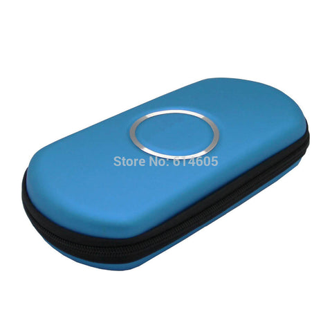 Blue Hard Travel Bag Cover Case for Sony PSP 2000/ 3000