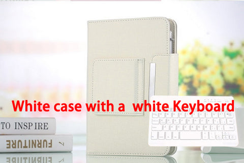 "Universal Bluetooth Keyboard Cover Case for iPad Air 9.7"" inch/ Tablet PC for iPad 5"