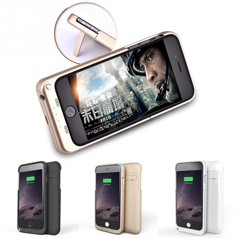 Extra Endurance Battery Charger Cover Case for iPhone 6/ 6 Plus/ 7/ 7 Plus (3200-5000 mAh)