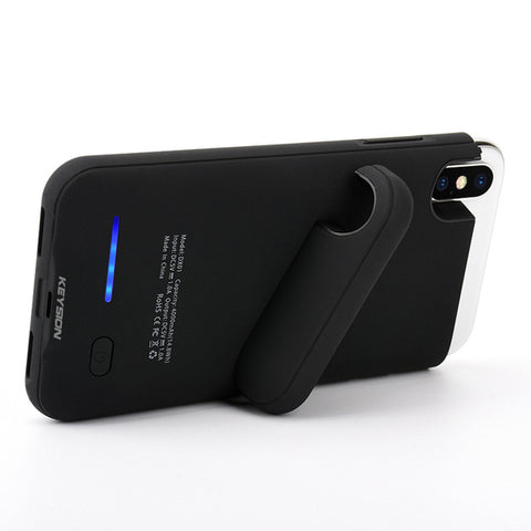 LED Portable Battery Charger Cover Case for iPhone X/ iPhone 10