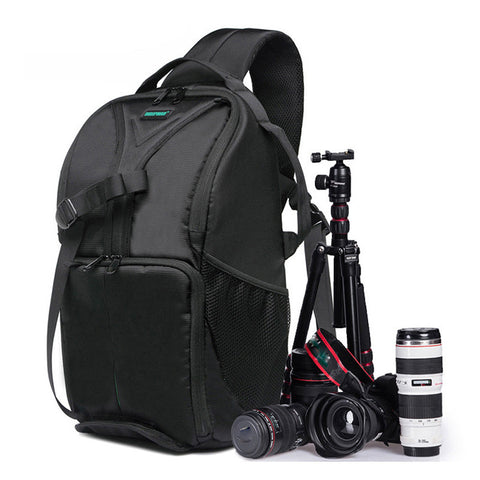 Waterproof Padded Backpack Bag Case for Canon / Nikon/ DSLR