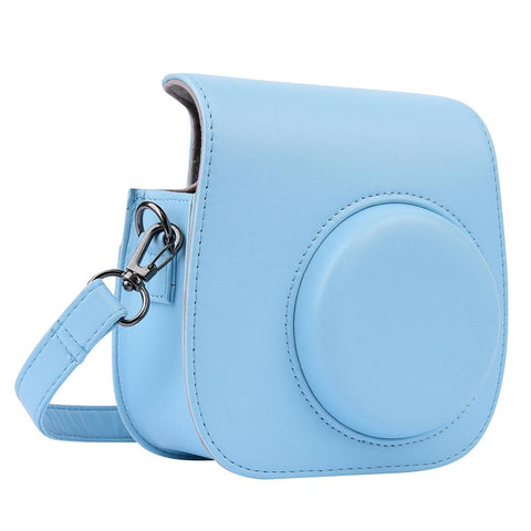 PU Leather Bag with Shoulder Strap for Fuji Instax Mini 8