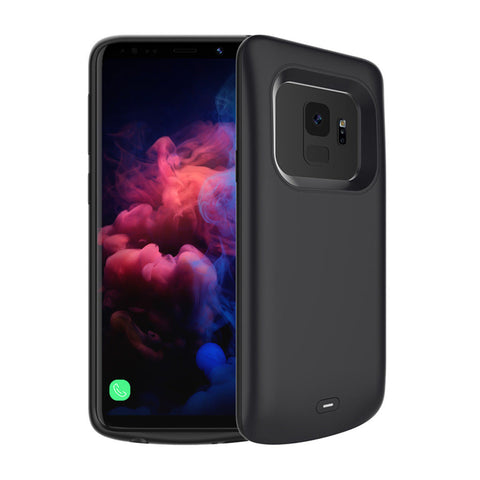 Extended Portable Silicone Battery Charger Cover Case for Samsung Galaxy S9/ S9 Plus