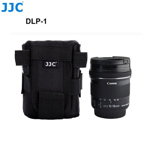 JJC Waterproof Deluxe Camera Lens Bag Pouch for Canon/Sony/Nikon/JBL