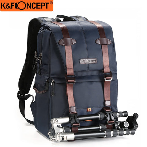 K&F CONCEPT Shockproof Camera Backpack With Dual-layer Design For DLSR