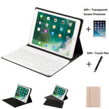 Qu Wind Split Design Leather Case With Bluetooth Keyboard Case For iPad Mini