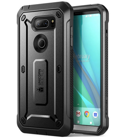 Pro Full-Body Rugged Holster Cover Case For LG V30