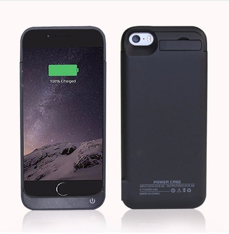 HENGTE 2017 New Portable 4200mAh Power Bank Case For iPhone 5 5S 5c SE