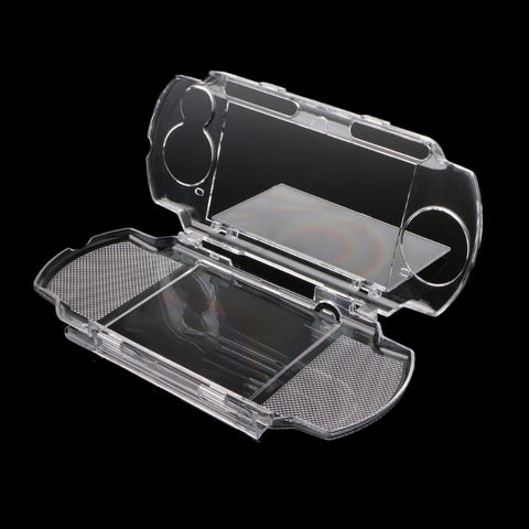 OOTDTY Clear Crystal Protective Cover Case for Sony Playstation PSP 2000 3000