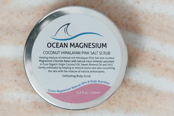 COCONUT HIMALAYAN PINK SALT SCRUB 100ml