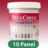 Ten Panel DrugCheck Test Cup